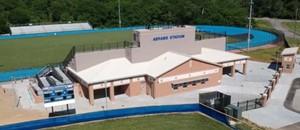 Above shot of Abrams Stadium